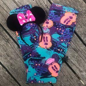 ♦️2/$30 Disney Minnie OS Adult Leggings LuLaRoe